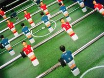 De lijstspel van het voetbal Stock Afbeeldingen