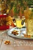 De Likeur van de citroen Royalty-vrije Stock Afbeeldingen