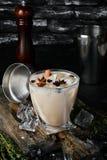De Likeur van de koffieroom van brandewijn en whisky stock afbeelding