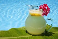 De Limonade van de zomer stock fotografie