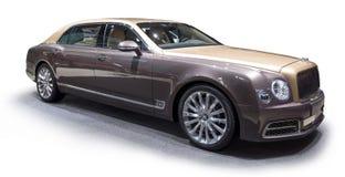 De limousine van Bentley Mulsanne EWB royalty-vrije stock afbeelding
