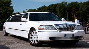 De limousine van Lincoln Stock Afbeelding