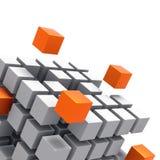 De Links van het netwerk stock illustratie