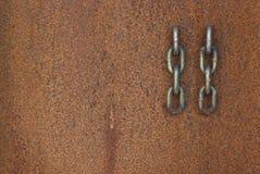 De Links van het staal stock foto's