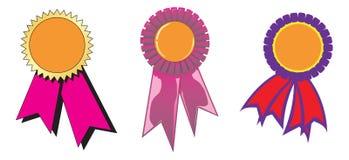 De linten van de toekenning royalty-vrije illustratie