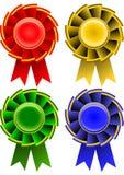 De linten van de toekenning Royalty-vrije Stock Fotografie