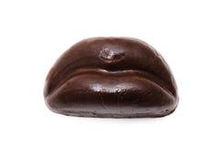 De lippen van de chocolade Royalty-vrije Stock Foto