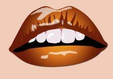 De Lippen van de kleur Vector Illustratie