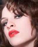 De lippen van Lianne Royalty-vrije Stock Foto's