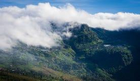 ` De Lipton s Seat dans Haputale, Sri Lanka image libre de droits