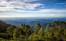 ` De Lipton s Seat dans Haputale, Sri Lanka photos libres de droits