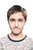 De listige tiener Stock Foto's