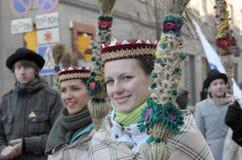 De Litouwse dag van de Onafhankelijkheid Stock Afbeeldingen