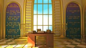 De livliga 10 commandmentsna Royaltyfri Bild