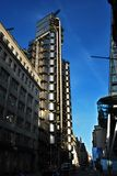 De Lloydsbouw in Londen, de binnenstebuiten Bouw Stock Foto's
