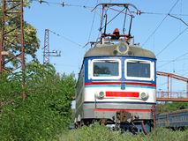 De locomotief. Royalty-vrije Stock Foto's