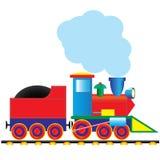 De locomotief van de stoom royalty-vrije illustratie