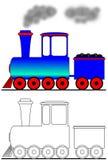 De locomotief van de stoom Royalty-vrije Stock Fotografie