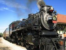 De Locomotief van de stoom stock foto's