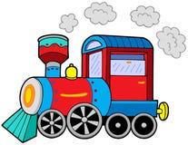 De locomotief van de stoom vector illustratie