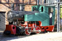Locomotief in Hamburg Royalty-vrije Stock Foto