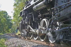 De locomotief van de trein Stock Fotografie