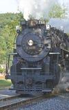 De locomotief van de trein Stock Foto