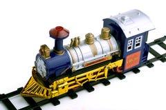 De locomotief van het stuk speelgoed Stock Afbeelding
