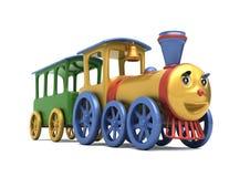 De locomotief van het stuk speelgoed Stock Foto