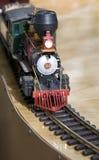 De Locomotief van het stuk speelgoed Stock Foto's
