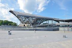 ` de Lodz Fabryczna de ` de gare ferroviaire Photo stock