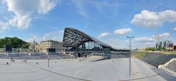 ` de Lodz Fabryczna de ` de gare ferroviaire Image libre de droits