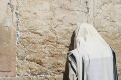 De loeiende Muur, Jeruzalem royalty-vrije stock foto