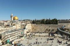 De Loeiende muur, Jeruzalem - Israël Royalty-vrije Stock Afbeelding