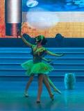 De lofprijzing van Dag van de Arbeid van de peren de bloem-ballet-algemene Vakbond ` s toont Stock Fotografie