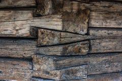 De logboekbouw Stock Foto