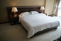De logeerkamer van hotel Stock Foto