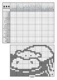 De logicaraadsels van het beeld Royalty-vrije Stock Afbeelding