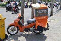De logistische Motorfiets van Kerry stock foto