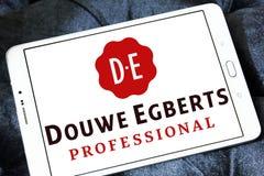 DE, logo del caffè dei egberts del douwe Fotografia Stock Libera da Diritti