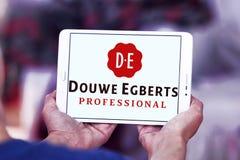 DE, logo del caffè dei egberts del douwe Fotografie Stock