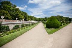De Loire van château-DE-Chenonceau coté vallley Stock Afbeeldingen