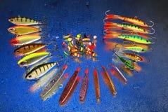 De lokmiddelen van de visserij Stock Afbeelding