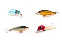 De Lokmiddelen van de visserij Stock Fotografie
