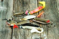 De lokmiddelen van de visserij Royalty-vrije Stock Foto's