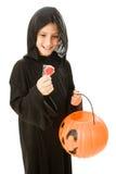 De Lolly van Halloween stock fotografie