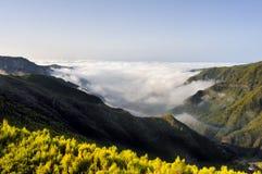 de Lomba naturalna parque plateau Risco dolina Zdjęcia Stock