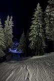 De loods van de winter Stock Afbeeldingen