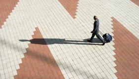 De loods van passagiersluchtvaartlijn Stock Foto