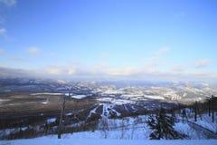 De looppas van de ski Royalty-vrije Stock Afbeelding